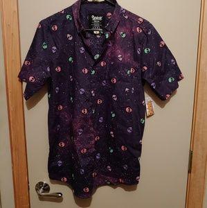 Men´s Alien Button Down Shirt Spencer´s